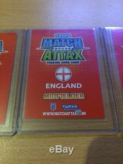 Match Attax England World Cup 2010 Full Set Of All 3 Hologram Cards Packet Fresh