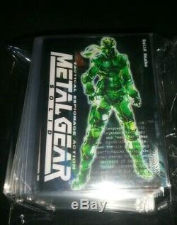 Metal Gear Solid Trading Card Full Basic Set Of All 100 Cards New