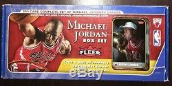 Michael Jordan Fleer 2007 Full Box Set. All cards NM-M! Fleer Rookie RC or Auto