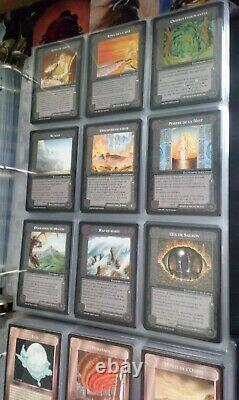 Middle-Earth MECCG The Wizards French Set of 407 Cards (All 45 Non-Unique Rares)