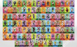 NEW Animal Crossing Amiibo Cards Complete Set All Series 1-4 (#001-400) US