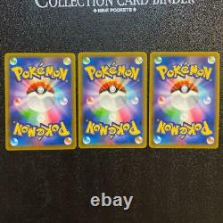 Nintendo Pokemon Card Trainer Red&Green&Blue Special Art SR SET Tag All Stars
