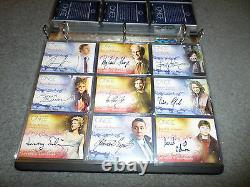 ONCE UPON A TIME COMPLETE CARD SET With ALBUM. PROMO, ALL AUTO, COSTUME + A SKETCH
