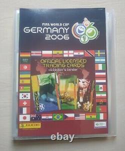 PANINI World Cup Germany 2006 Trading Cards Ronaldo Messi All Set 205 + GM18 USA