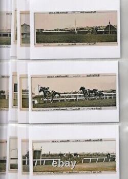 PHAR LAP 40 card set all victories plus sire/Dam photos modern Digital Postcards