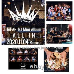 PRE ORDER Stray Kids JAPAN ALL IN OFFICIAL TOWER RECORD Random cards included