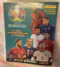 Panini Adrenalyn XL Euro 2020 2021 Kick Off Full Set Of All 405 Cards In Binder