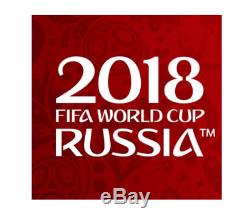 Panini Adrenalyn XL WORLD CUP 2018 RUSSIA BINDER +all 468 cards + LIMITED FREE