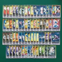 Pokemon Bandai Carddass Complete Set All 153 Cards + File 000 Starters Checklist
