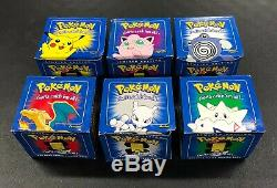 Pokemon Burger KIng Pokeballs with Gold Cards Complete Set of 6 All Sealed