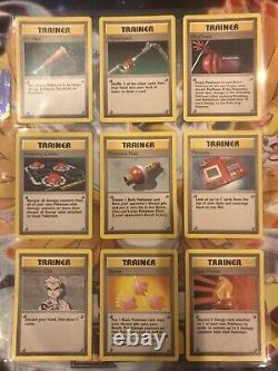Pokemon Cards 1999 Complete Base Set 102/102 ENGLISH Includes All Cards