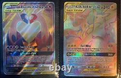 Pokemon Cards Team UP near master set ALL GX /Half/Full Arts/Secret/RR/Promos