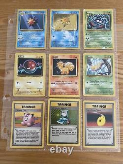 Pokemon Complete Base Set Played Condition All 102 Cards
