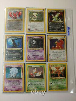 Pokemon Complete Neo Discovery Set NM (75/75) All Cards Master Set