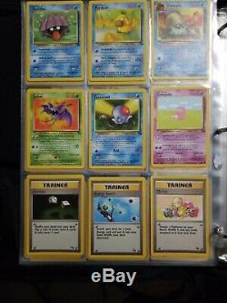 Pokémon FOSSIL Complete Set All Cards 62/62