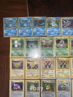 Pokemon Holo Wotc Jungle Base Set Vintage Rare 50 Card Lot All Holo Rares Psa