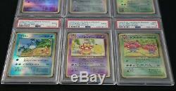 Pokemon Southern Islands Japanese (All holos, 6 cards) PSA 9 Set Mint