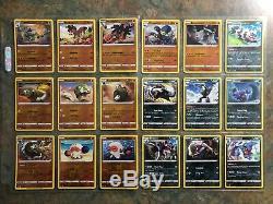 Pokemon Tcg Swsh Sword & Shield Complete Reverse Set All 165 Cards