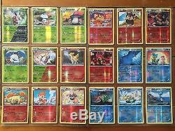Pokemon Tcg Xy Steam Siege Master Set All 209 Cards Incl Reverse Holos