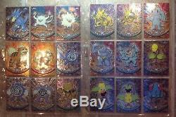 Pokemon Topps Chrome Complete Set Series 1 2 & 3 All 151 Cards Mint Condition