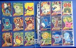 Pokémon Topps Johto Series 3 Set All 70 Cards inc Pokemon HV Snap & Puzzle