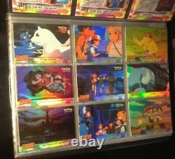 Pokemon Topps RAINBOW HOLO FOIL The 1st Movie Complete Set All 72 Cards RARE