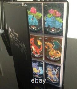 Pokemon Topps Series 1 Chrome Set All Cards 1 to 78 in Folder Very Rare All NM