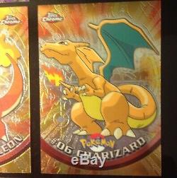 Pokemon Topps Series 1 Complete Chrome Set All 78 Cards Mint Condition