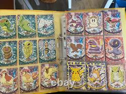Pokemon Topps cards 100% complete sets series 1 and 2 all 161/162 Charizard USED