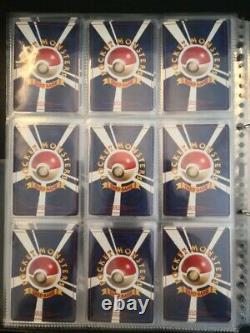 Pokemon card All old back Holo & Rare Japanese lot set