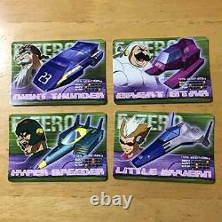 RARE F-Zero Carddass All 38 Kinds from JAPAN F-ZERO Card SET