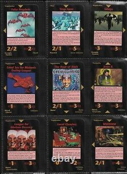 SUBGENIUS EXPANSION ALL 100 SET 1998 Illuminati INWO Card Game