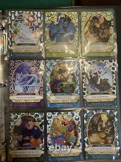 Sorcerers Of The Magic Kingdom Complete SET All 86 Cards And Game Boards