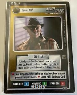 Star Trek CCG Holodeck Adventures Complete set 141 cards with UR all Duals