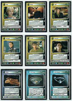 Star Trek Ccg All Good Things, Agt Complete Set Of 41 Cards