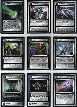 Star Trek Ccg The Borg Complete Master Set Inc All Ai & Ur, 143 Cards