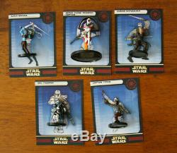 Star Wars Miniatures CLONE STRIKE Set COMPLETE with ALL 60 CARDS & MAP & POSTER