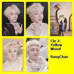 Stray Kids photocard album Yellow Wood Official Photo card Bang Chan