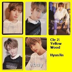 Stray Kids photocard album Yellow Wood Official Photo card HyunJin