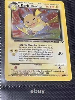 Team Rocket Complete 1999 Set All Cards Mint Never Played With 1-83/82. 83 Cards