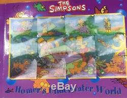 The Simpsons CCs Complete Set With Album. All Tazos Cards Fantastic condition