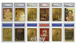 Tom Brady Mega-Deal Licensed Cards All Graded Gem Mint 10 SET OF 6 LOW $$$