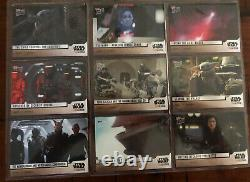 Topps Now Star Wars The Mandalorian 40-Card Set Season 1 All 8 Chapters