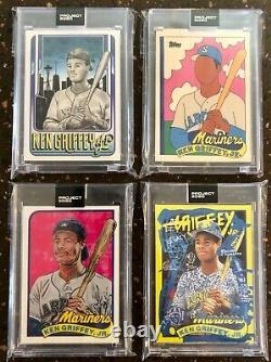 Topps Project 2020 Ken Griffey Jr. Set ALL 20 CARDS King Saladeen Ermsy
