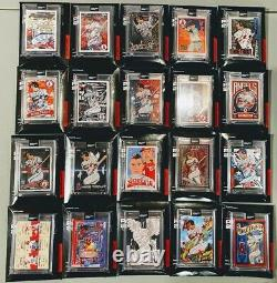 Topps Project 2020 Mike Trout Complete Set All 20 Artists Great Set