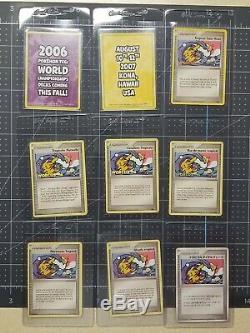 Tropical Tidal Wave Pokemon World's 2006 9 Card Set NM/MINT All Languages Promos