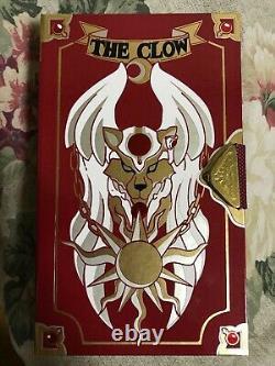 USED Bandai 1999 Card Captor Sakura All Clow Card Set Case Game Card Key Japan
