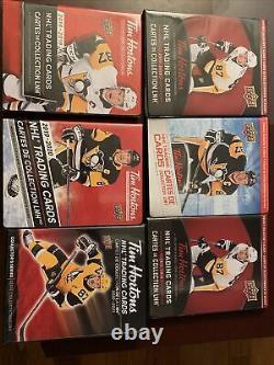 Upper Deck TIM HORTON Hockey CARDS CANADIAN ALL COMPLETE SET! READ plz