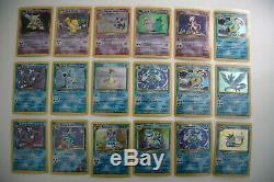 Vintage Pokemon Cards, From Base Set To Neo Collection All Holos! 81 Cards