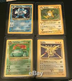 WOTC Pokemon Complete Base Set, See Details! All 102 cards! NM Charizard